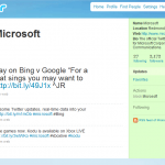 Microsoft Twitter not Verified