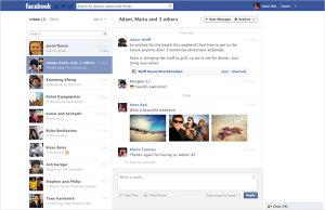 Facebook Revamps Messages to Look More Like Email