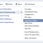 You Can Now Notify Your Facebook Friends When You're Expecting