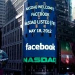 Facebook shares close at record low
