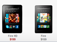 New Kindle Fire vs Kindle Fire HD vs Nexus 7
