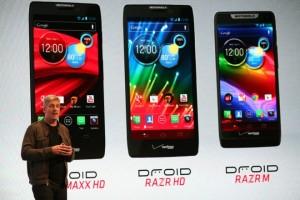 Motorola launches new Razr smartphones