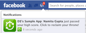 All Facebook Apps to Soon Have Notification Capability