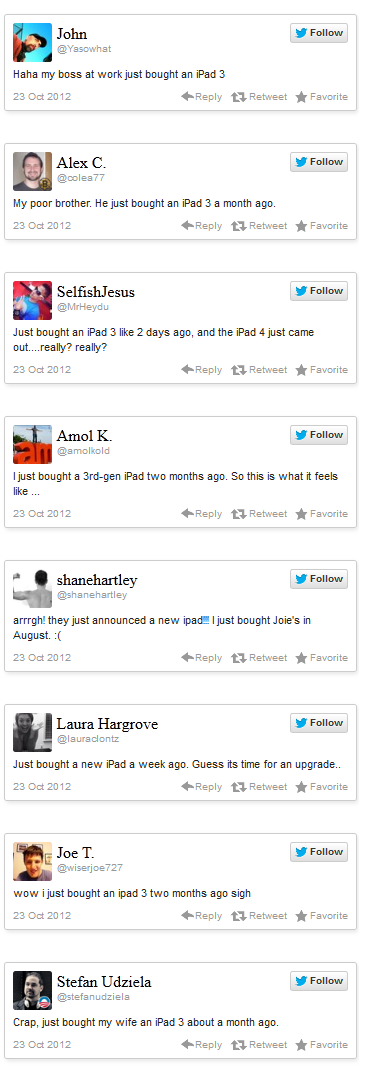 iPad 3 Customers Unhappy With Apple Retiring iPad 3