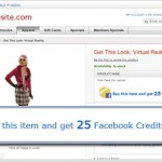 Online Retailers to Offer Facebook Credits as Shopping Incentives
