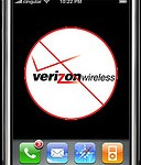 Verizon's V cast, a direct competitor to Apple's app store