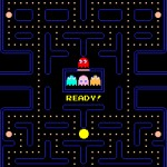 Pac-man on Google UK