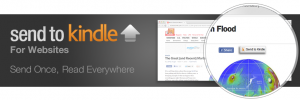 """Amazon Introduces """"Send to Kindle"""" Button for Websites"""