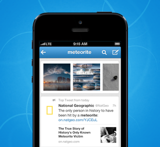 Twitter updates iOS and Android Apps