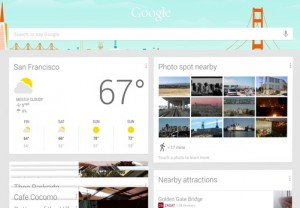 Google Maybe Planning To Bring Google Now To Google Home Page