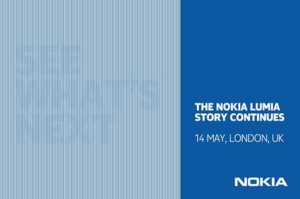 Nokia To Hold Press Event In London  On May 14 For Windows Smartphones Announcement