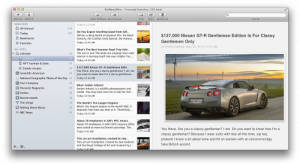 Acclaimed NetNewsWire 4 RSS Reader for Mac Goes Into Beta, iOS Version To Follow