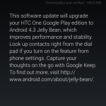 Android 4.3 OTA Upgrade Rolling Out To Samsung for Galaxy S4 And HTC One  Google Play Editions