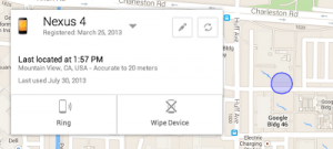 Locate Misplaced And Lost Android Phones Using Android Device Manager